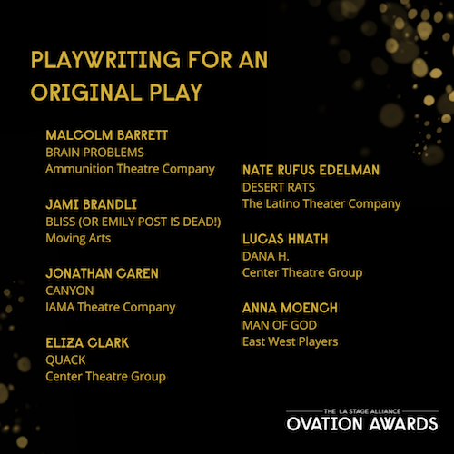 jami brandli ovation nom for bliss copy